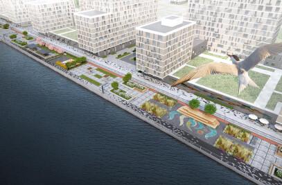 River Park waterfront reconstruction