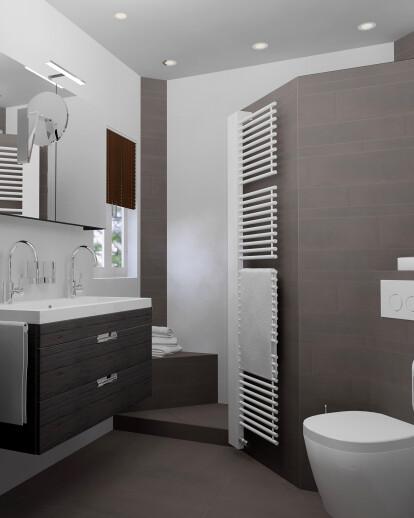 Small Bathroom In 3d Design Sani Bouw Archello