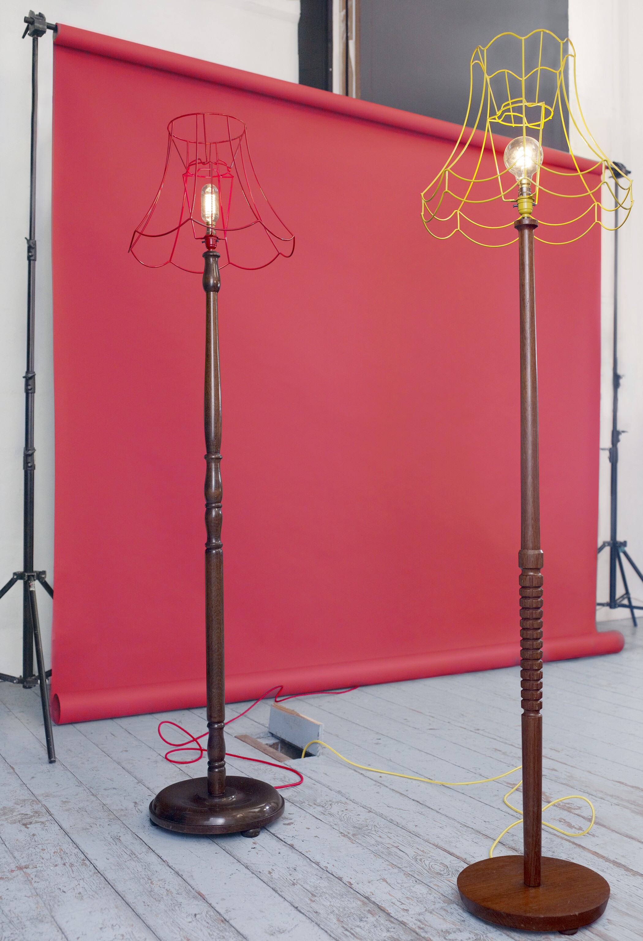 Skeleton Floor Lamps