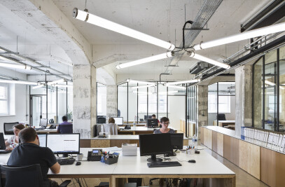 OFFICE INTERIOR IN STRASBOURG