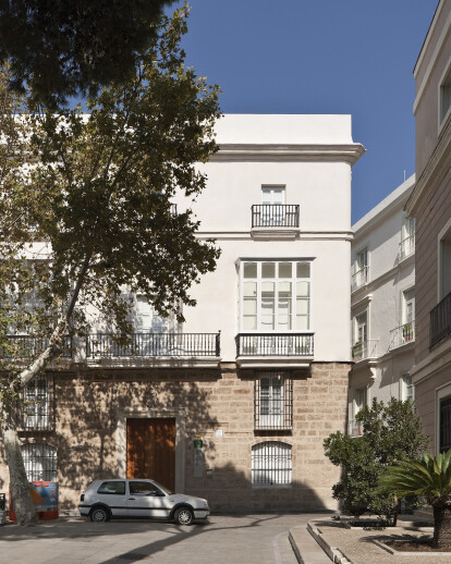 PINILLOS HOUSE. EXPANSION OF THE MUSEUM OF CÁDIZ