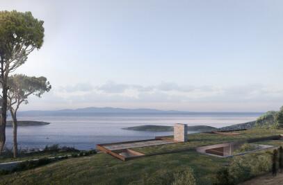 Eco-tourism resort (Almost Invisible Resort)