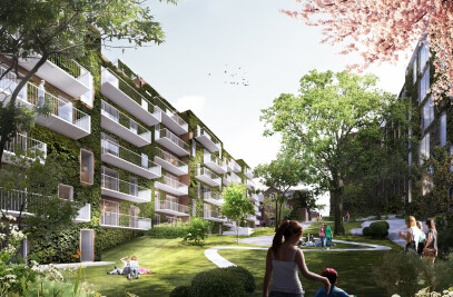 New residential development in the heart of Aarhus' cultural centre