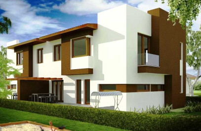 Modern house turnkey project