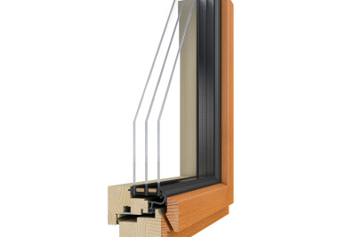 SLIMLINE 2H - Holzfenster