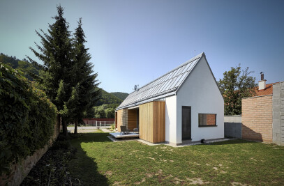 WOODEN BRICK HOUSE