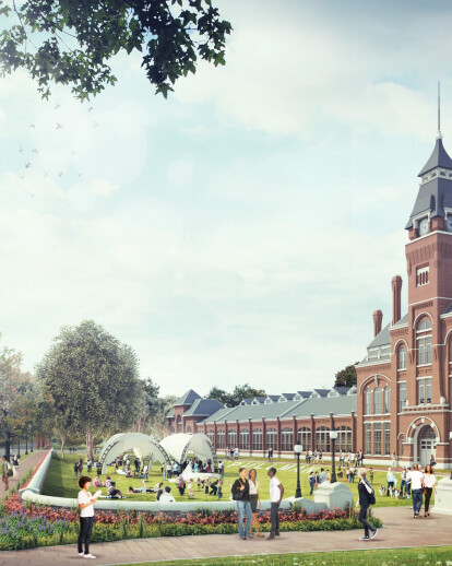 Pullman National Monument Redevelopment Plan