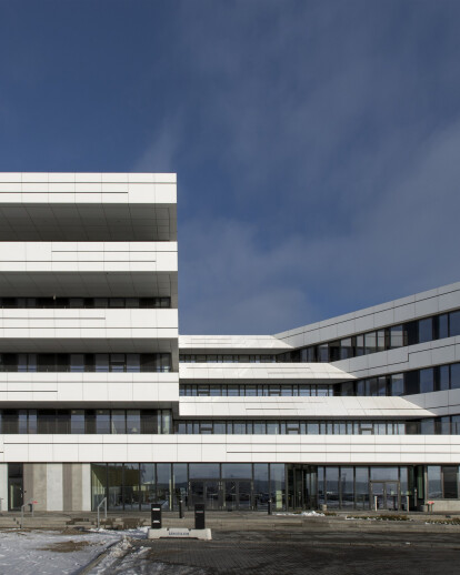 The new Port Centre for the Port of Aarhus