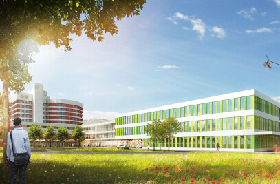 Hôpital du Valais in Sion