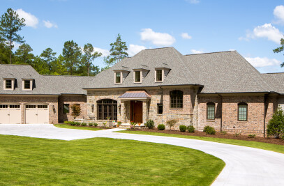 Bost Builders   Lake Front French Retreat
