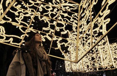 Christmas lights - Berlin 2013