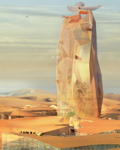 City sand Tower