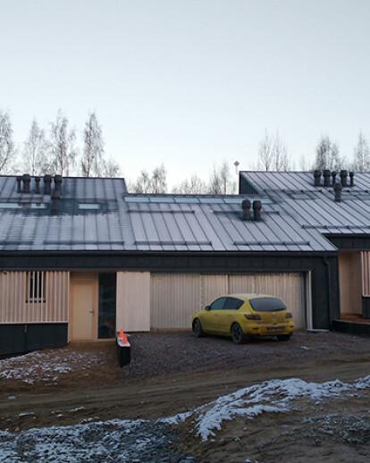 House in Karelia, Saint-Petersburg region, Russia