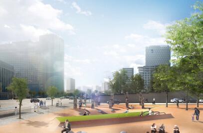 Sejong-daero Historic Cultural Space International Design Competition