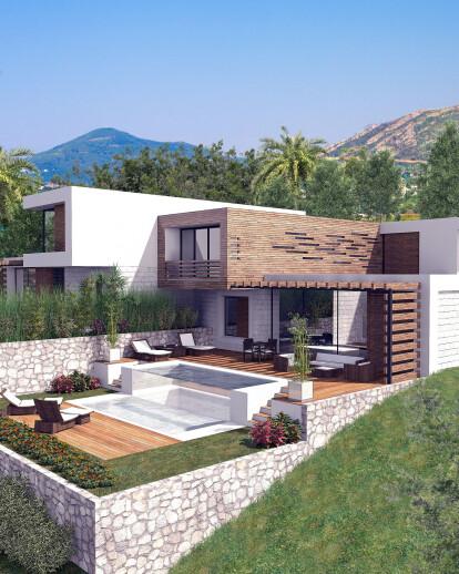 Luxury apartment complex in Montenegro