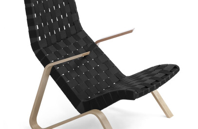 Grasshopper Chair mit Gurtgeflecht
