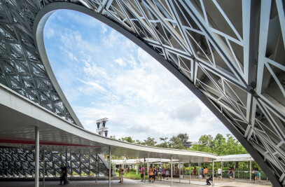 Future of Us Exhibition Pavilion