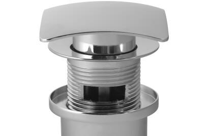 Square Click-Clack Washbasin Plug
