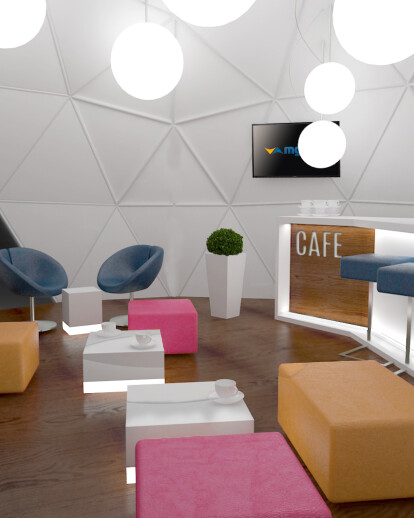 GEODESIC DOME CAFE CONCEPT