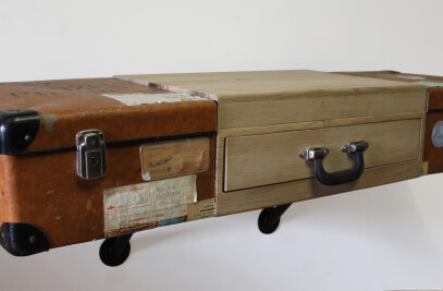 Sawn Suitcase