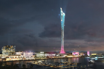 Waterfront Base Jump Tower