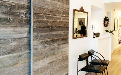 Bypassing barn board doors