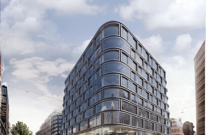 Mixed-use development in central Stockholm