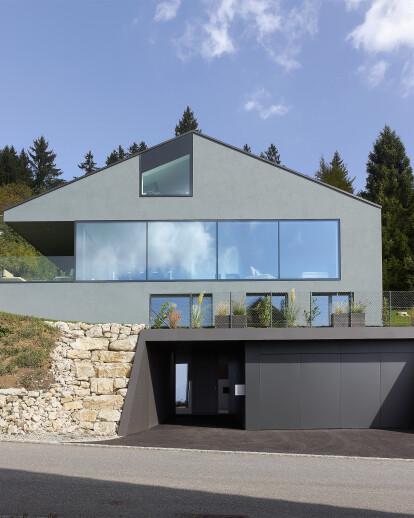 Villa Erard, à Nods, BE