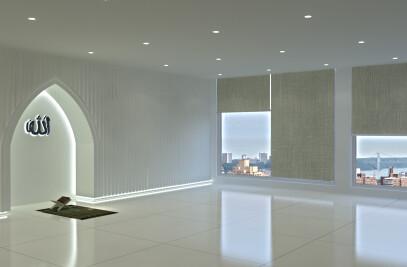 aziz cort mosque
