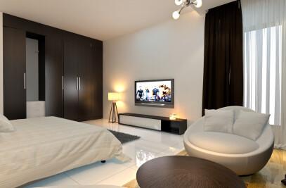 1200 sft interior