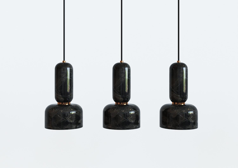 ANDROMEDA Lamps by Ekaterina Elizarova