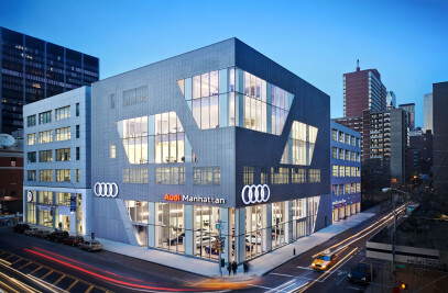 Audi Manhattan Vehicle Handover Area