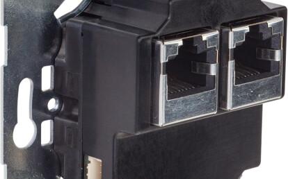 Rear view u::Lux Switch RJ45