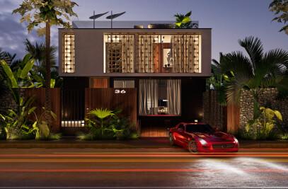 House in Casablanca, Marocco