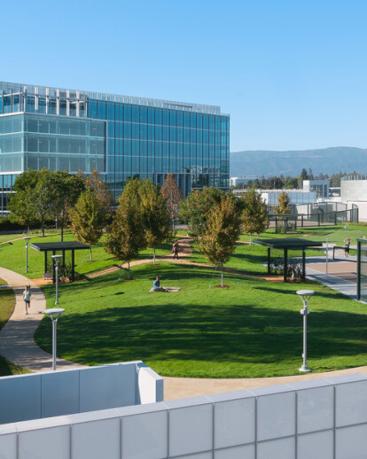 Moffett Place High Garden (Silicon Valley's Newest Rooftop Park)