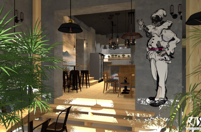 """Bella Napoli"" Enzo Rossi italian restaurant in Warsaw"