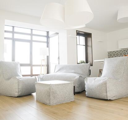Pusku pusku / Model Sofa Lounge Quilted