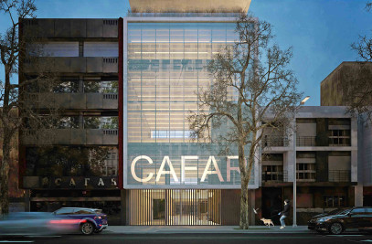 New office building and complementary activities CAFAR