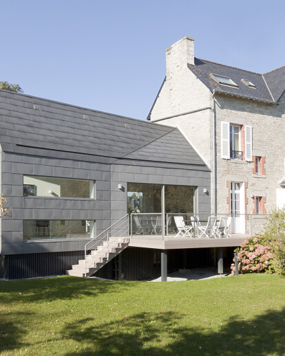 HOUSE EXTENSION IN BRITTANY