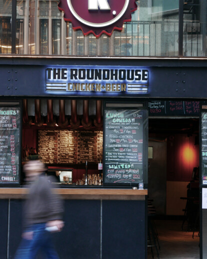 The Roundhouse . Chicken + Beer
