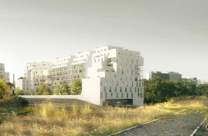 CONSTRUCTION D'UN PROGRAMME MIXTE DE LOGEMENTS ET D'UN CENTRE DE CONTRÔLE TECHNIQUE AUTOBUS