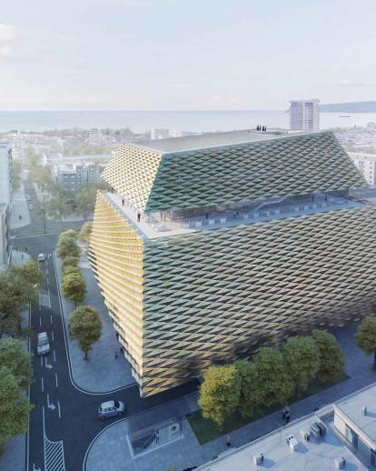Varna Contemporary Library FARA-ON + PLUKK