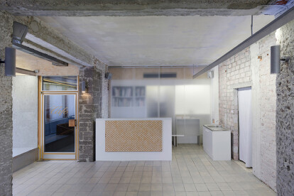 CONVERSION OF A BAKERY TO AN ART GALLERY