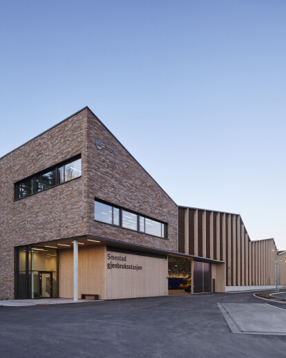 Smestad recycling centre