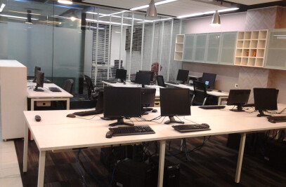 Office interiors at M.G.Road, Gurgaon