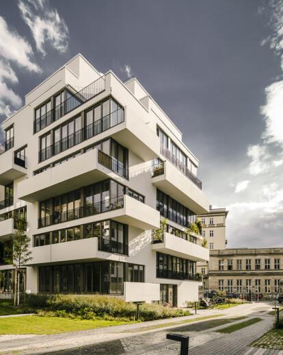 li01 |New construction of six apartment buildings, Liebigstrasse 1