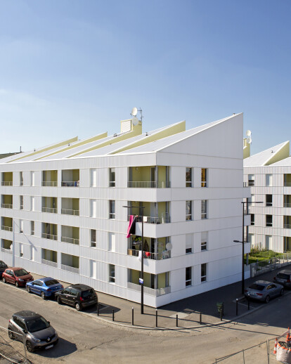 43 social housing in Saint-Denis, France