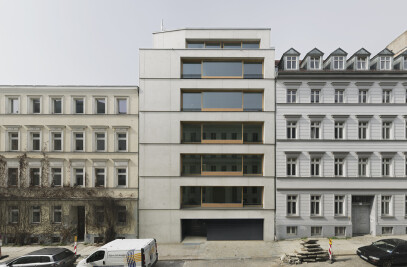 ch39 | New construction of a residential building in Christinenstrasse 39, Berlin