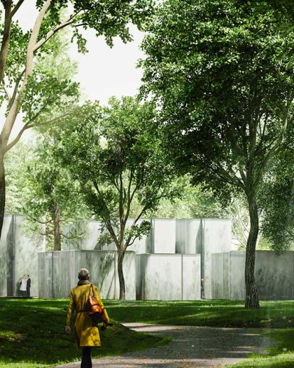 Architectural rendering Bois Fleuri Hotel