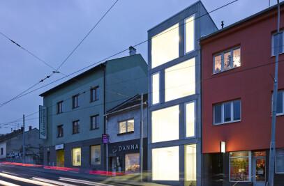 Mixed-use House in Minská street